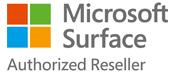 Microsoft Surface authorised reseller logo
